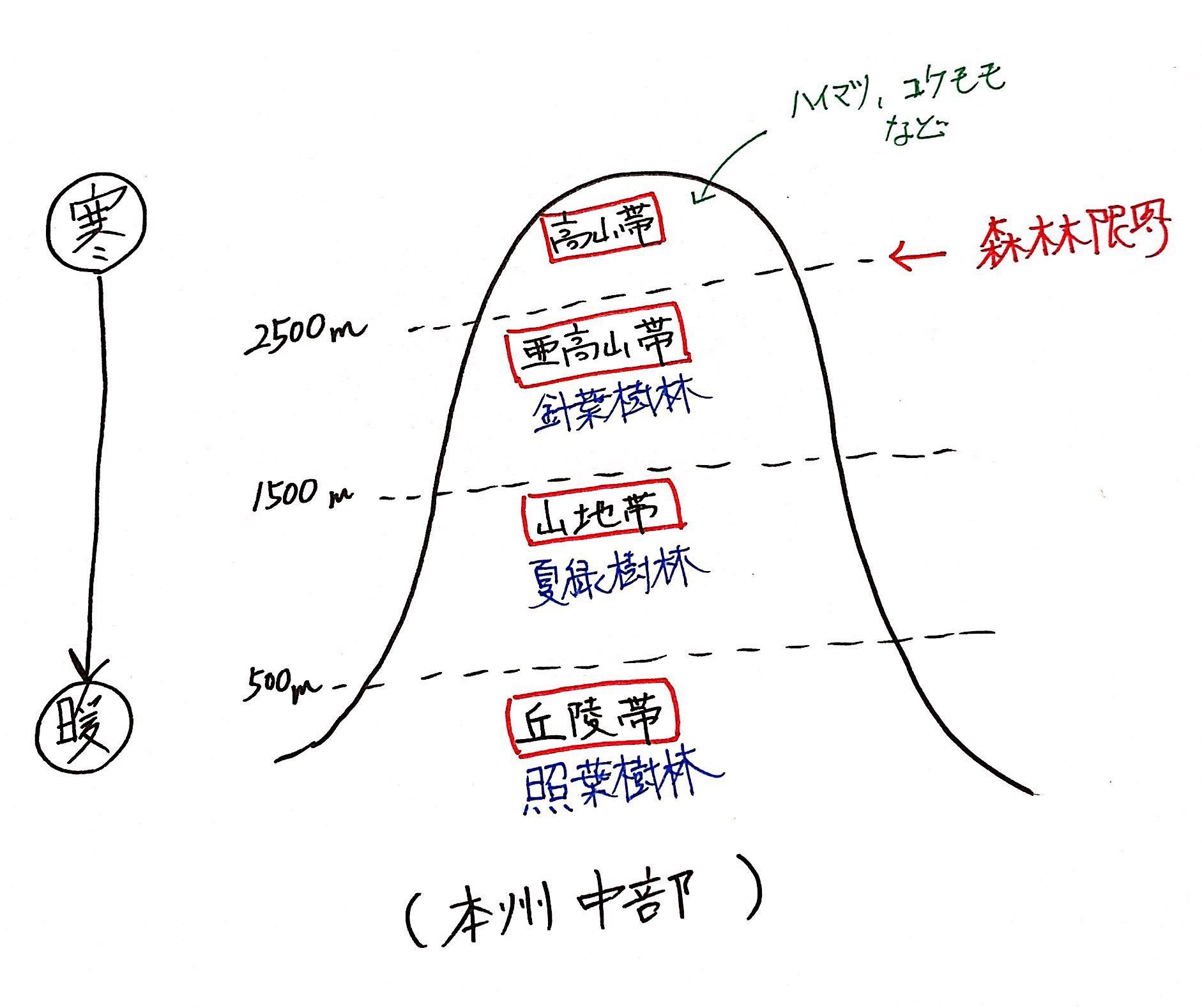 覚え 方 バイオーム